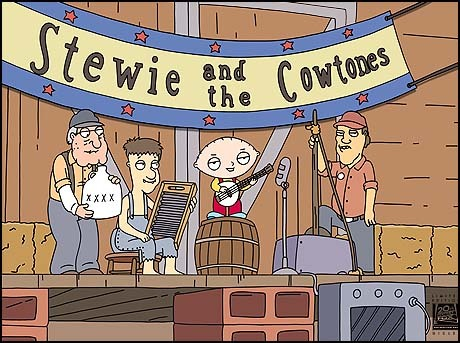 20th Century Fox Stewie and the Cowtones