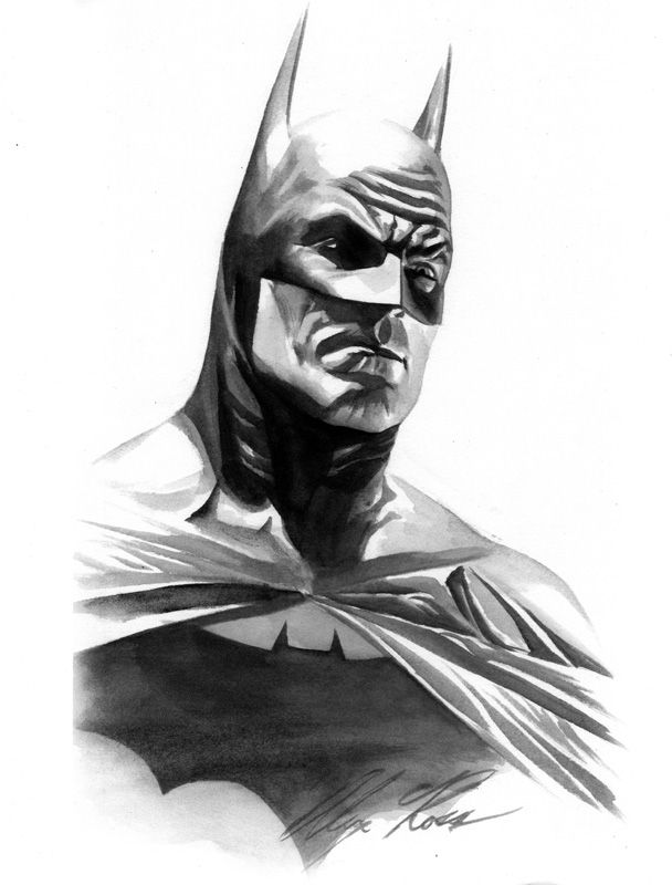 Alex Ross Gotham Knight (Paper)