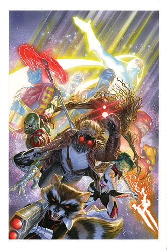 Alex Ross Guardians of the Galaxy
