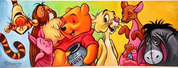 Tim Rogerson Hundred Acre Friends