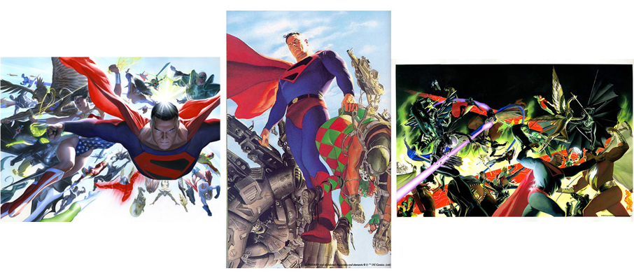 Alex Ross Kingdom Come (Set of 3) (Paper)