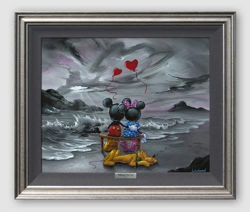 Jim Warren Mickey and Minnie Forever Love