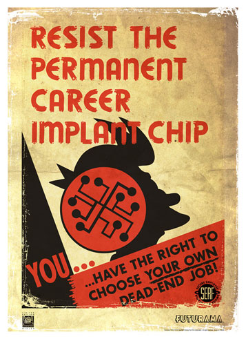 20th Century Fox Resist the Permanent Career Implant Chip