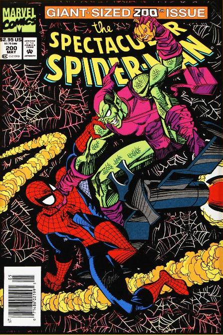Marvel Comics Spectacular Spider-Man #200 - Signed by Stan Lee!