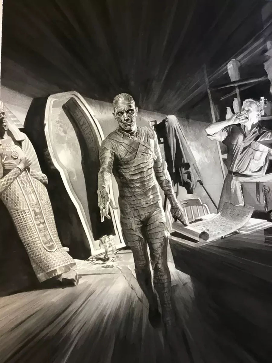 Alex Ross The Mummy (Universal Monsters)