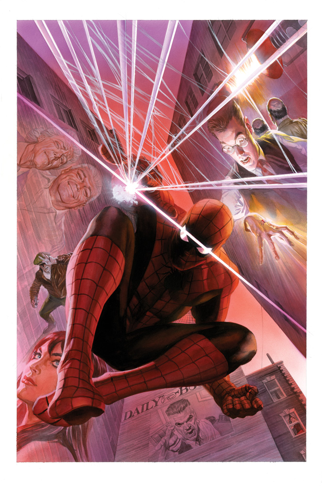Alex Ross With Great Power