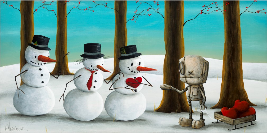 Fabio Napoleoni A Little Something to Keep You Warm (SN) Canvas