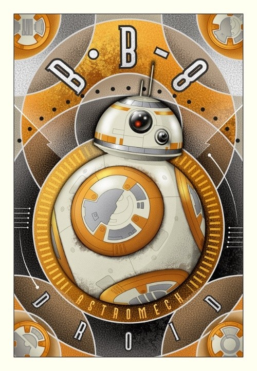 Mike Kungl BB-8 Astromech Droid (Paper)