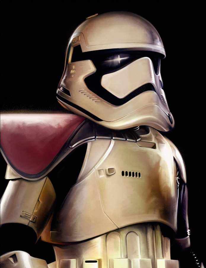 Brian Rood First Order Stormtrooper