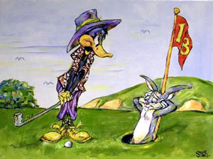 Chuck Jones Hare Hazard