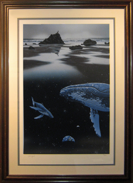 Schim Schimmel The Humpback's Voyage (Framed)