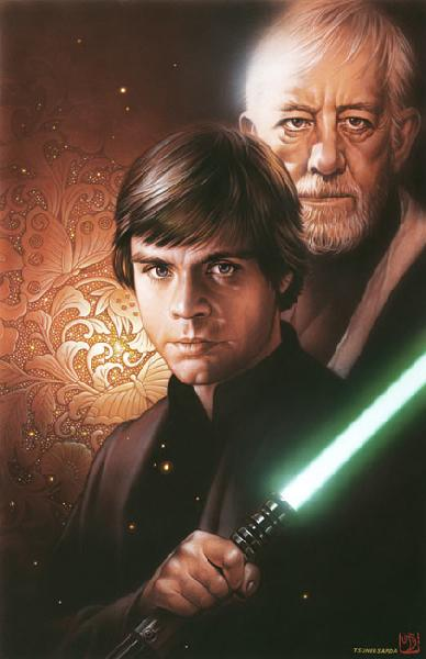 Tsuneo Sanda  Luke and Obi-wan