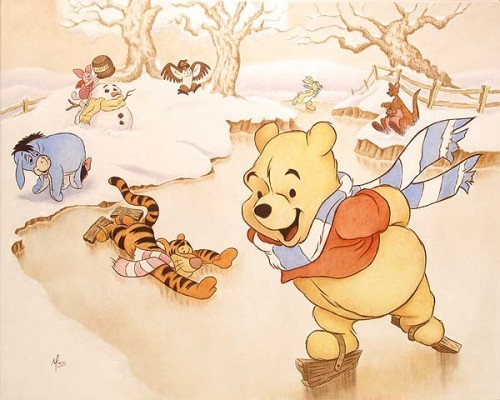 Mike Kupka Pooh's 80th - Snow Days