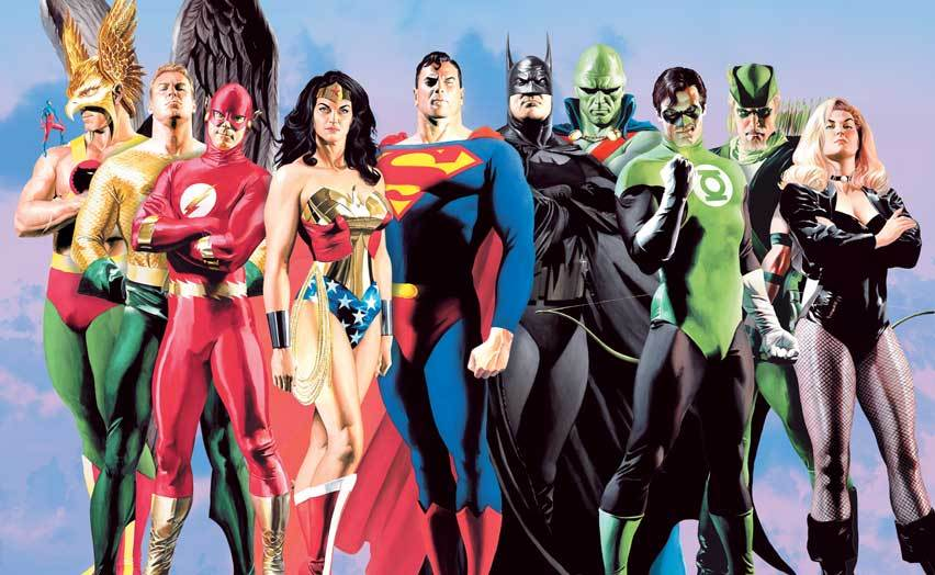 Alex Ross JLA: Secret Origins