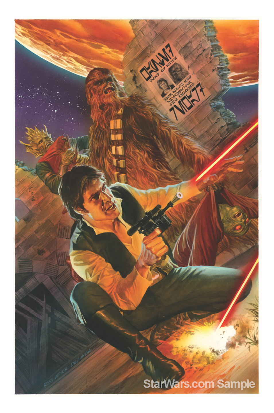 Alex Ross Star Wars: Celebration