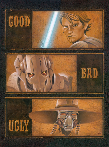 Brian Rood The Good, The Bad and The Ugly - Clone War Series