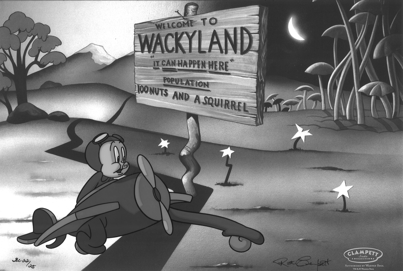 Bob Clampett Welcome to Wackyland
