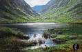 Peter Ellenshaw Limited Edition Giclee on Canvas Dunloe Gap