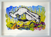 Tom Everhart Original Acrylic on Paper Back Flip (Original) - Framed
