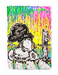 Tom Everhart Limited Edition Giclee on Paper Coconut Bouffant
