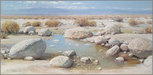 Peter Ellenshaw Limited Edition Giclee on Canvas Desert Reflections