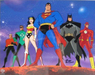 Batman Animation Artwork  Limited Edition Hand-Painted Cel Earth's Mightiest Heroes (CM)