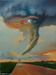 Jim Warren Limited Edition Giclee on Canvas Eye of The Storm