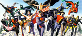 Superhero Artwork Limited Edition Giclee on Canvas Justice Society
