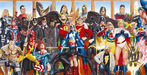 Alex Ross Comic Art Limited Edition Giclee on Canvas The Justice Society: Generations