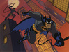 Batman Animation Artwork  Limited Edition Sericel Knight Moves