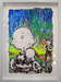 Tom Everhart Original Acrylic on Paper Snoopy Suite - Charlie Brown (Original) - Framed