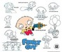 20th Century Fox Artwork Limited Edition Hand-Painted Cel Stewie Model Sheet