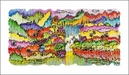 Tom Everhart Limited Edition Lithograph Super Fly