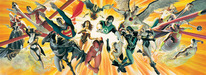 Superhero Artwork Limited Edition Fine Art Giclee The Perfect Alliance - Signed by Alex Ross