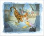 Toby Bluth Limited Edition Giclee on Paper Tigger Tackle