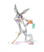 Bugs Bunny by Chuck Jones Limited Edition Giclee on Paper What's Up Doc?