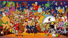 Flintstones Artwork Limited Edition Hand-Painted Cel All Together Now