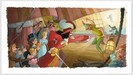 Toby Bluth Limited Edition Giclee on Paper Blast You, Pan!
