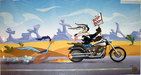 Superhero Artwork Limited Edition Hand-Painted Cel The Deuce You Say - Harley-Davidson