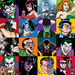 Superhero Artwork Limited Edition Giclee on Canvas The Faces of Evil (unframed)