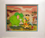 Flintstones Artwork Limited Edition Hand-Painted Cel Flintstones Fleur