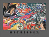 Superhero Artwork Limited Edition Giclee on Canvas Mythology: Good Vs. Evil (Canvas)