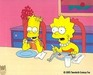 Simpsons Artwork Production Cel Treehouse of Terror - E0012