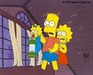 Simpsons Artwork Production Cel Treehouse Of Horror  - C8913