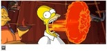 20th Century Fox Artwork Limited Edition Giclee on Paper Flaming Homer