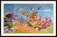Hanna-Barbera Artwork Limited Edition Hand-Painted Cel 40 Years of Hanna-Barbera