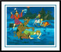 Hanna-Barbera Artwork Limited Edition Hand-Painted Cel A Tiki Scare is No Fair
