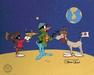 K-9 Artwork by Chuck Jones Limited Edition Hand-Painted Cel Duck Dodgers Trio