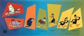 Daffy Duck by Chuck Jones Limited Edition Hand-Painted Cel Evolution of Daffy