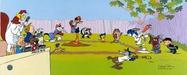 Daffy Duck by Chuck Jones Limited Edition Hand-Painted Cel Sandlot